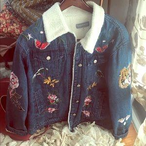 Jean patchwork jacket